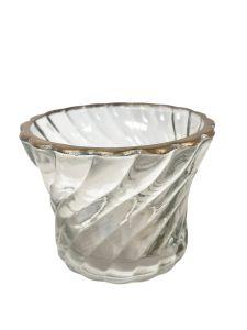 Tealightholder swirl WEL051