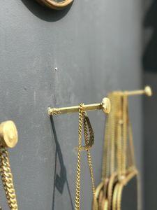 Haak nagel goud MJ10